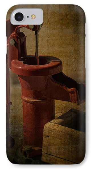 The Old Water Pump IPhone Case by Lena Wilhite