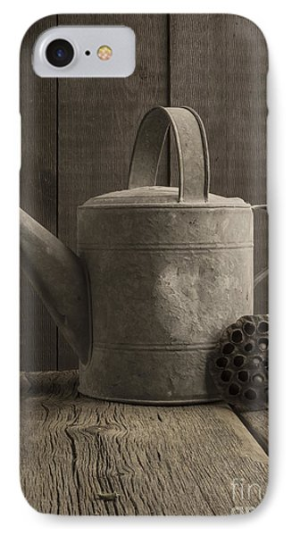 The Old Watering Can IPhone Case by Edward Fielding