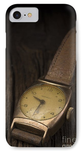The Old Wrist Watch IPhone Case by Edward Fielding