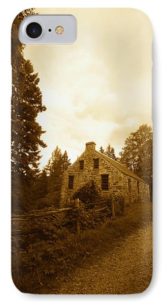 The Olde Stone Cottage Phone Case by Ron Haist