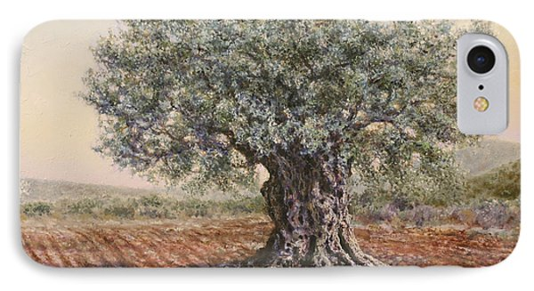 The Olive Tree In The Valley IPhone Case by Miki Karni