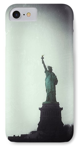 The Only Credential The City Asks For Is The Boldness To Dream IPhone Case by Natasha Marco