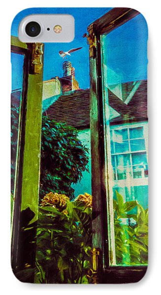 IPhone Case featuring the photograph The Open Window by Chris Lord