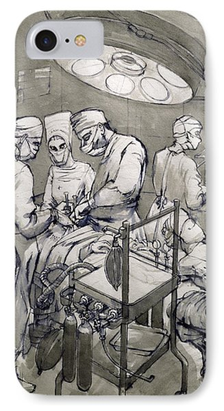 The Operation Theatre, 1966 IPhone Case
