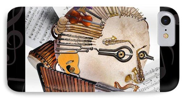 The Orchestra Phone Case by Alessandro Della Pietra