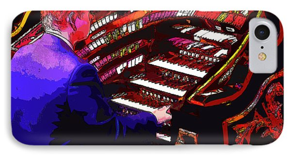 The Organ Player IPhone Case