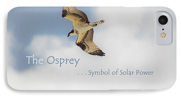The Osprey IPhone Case by DigiArt Diaries by Vicky B Fuller