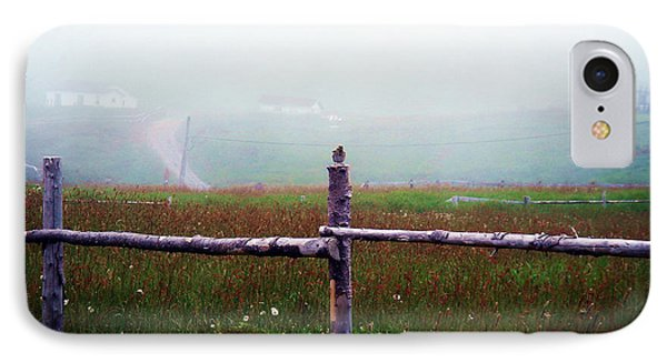 The Other Side Of The Field IPhone Case by Zinvolle Art
