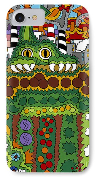 The Other Side Of The Garden  IPhone Case by Rojax Art