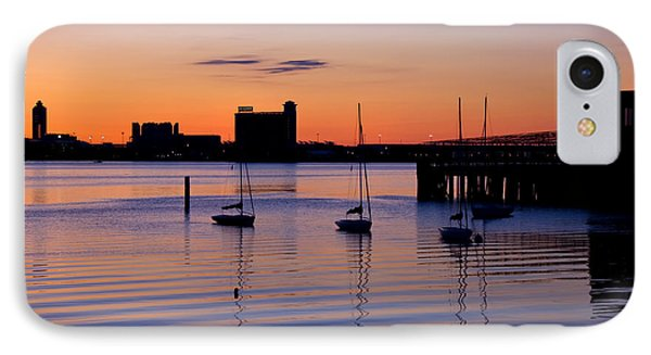 The Other Side Of The Harbor IPhone Case by Joann Vitali