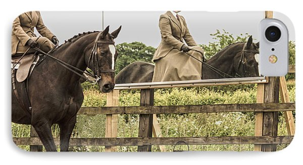 The Other Side Of The Saddle IPhone Case by Linsey Williams