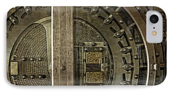 The Other Side Of The Vault Door IPhone Case by Image Takers Photography LLC - Carol Haddon