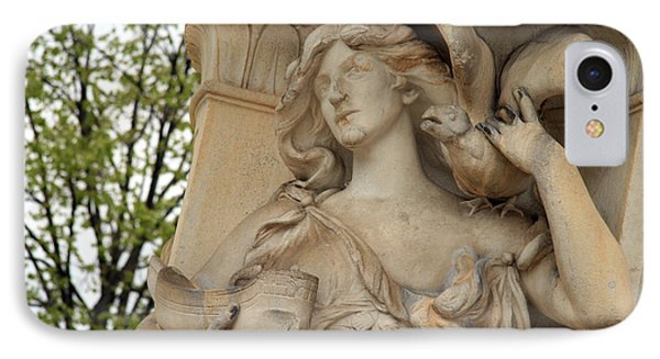 Sea At The Dupont Circle Fountain IPhone Case by Cora Wandel