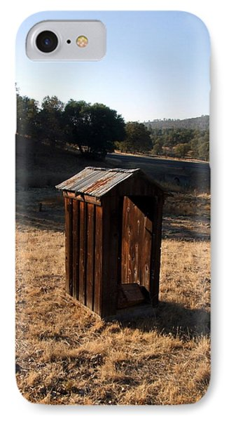 IPhone Case featuring the photograph The Outhouse by Richard Reeve