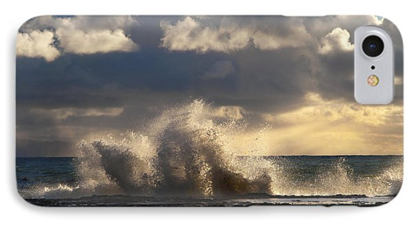 The Pacific Calms Down Phone Case by Joe Schofield