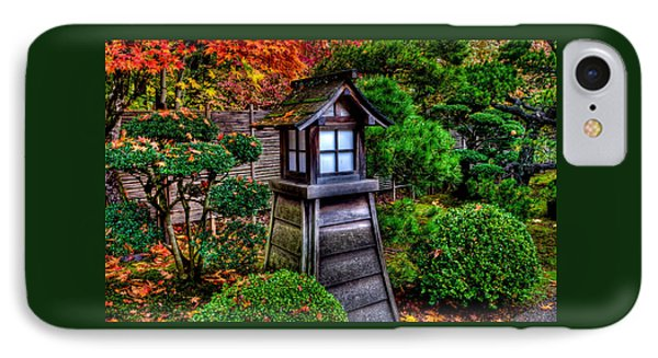 The Pagoda At The Japanese Gardens IPhone Case by Thom Zehrfeld