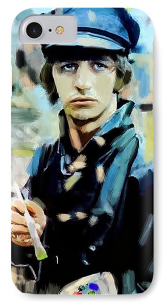 The Painted Heart  Ringo Starr IPhone Case