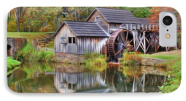 The Painted Mill IPhone Case by Dan Stone