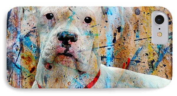 The Painter's Dog Phone Case by Judy Wood