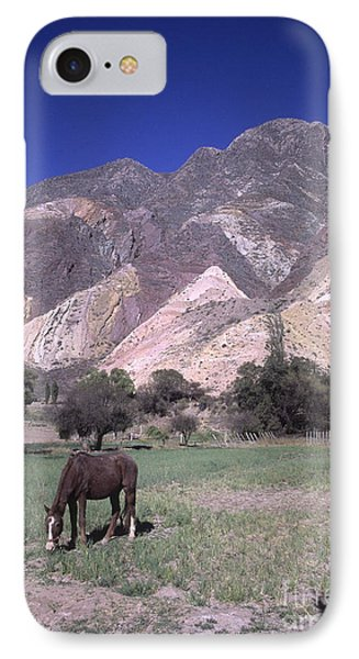 The Painters Palette Jujuy Argentina Phone Case by James Brunker