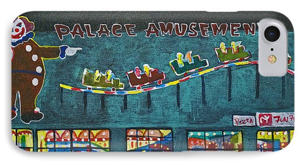 The Palace Clown At Night Phone Case by Patricia Arroyo