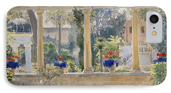 The Palace Garden IPhone Case by Lucy Willis