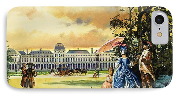 The Palace Of The Tuileries Phone Case by Andrew Howat