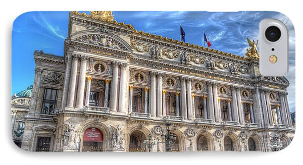 The Palais Garnier IPhone Case by Tim Stanley