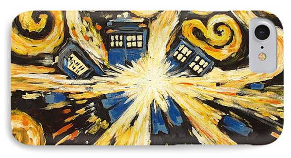 IPhone Case featuring the painting The Pandorica Opens by Sheep McTavish