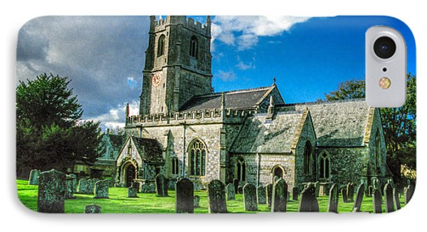 The Parish Church Of St. James IPhone Case by Ross Henton