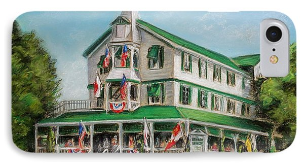 The Parker House IPhone Case by Melinda Saminski