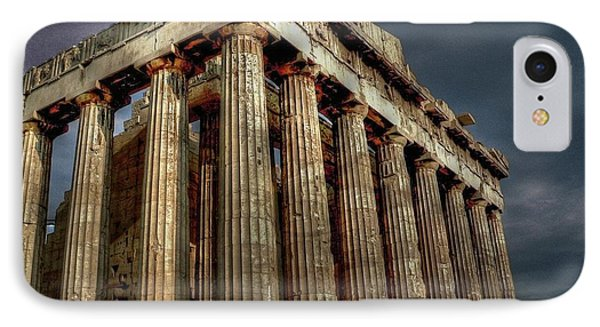 The Parthenon IPhone Case by David Bearden