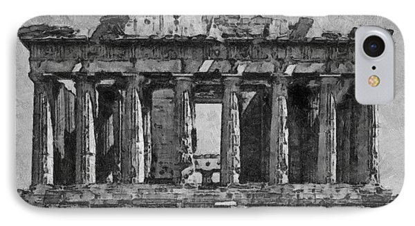 The Parthenon IPhone Case by George Rossidis