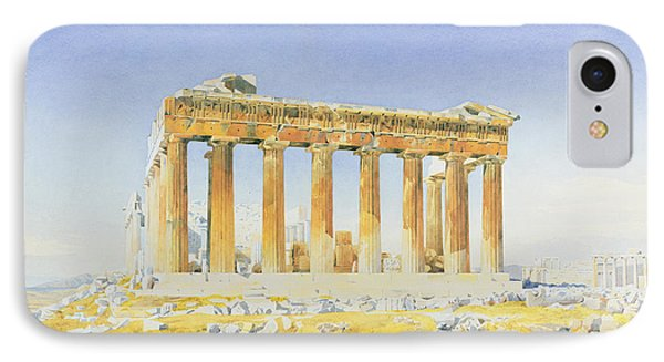The Parthenon IPhone Case by Thomas Hartley Cromek