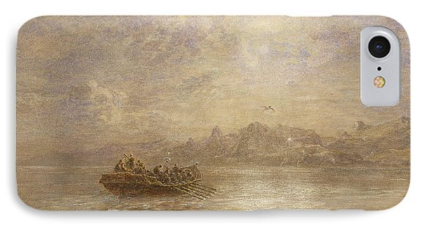 The Passing Of 1880 Phone Case by Thomas Danby