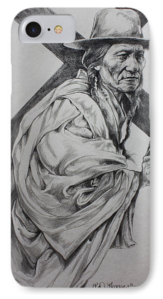 The Passion-sketch IPhone Case by Derrick Higgins