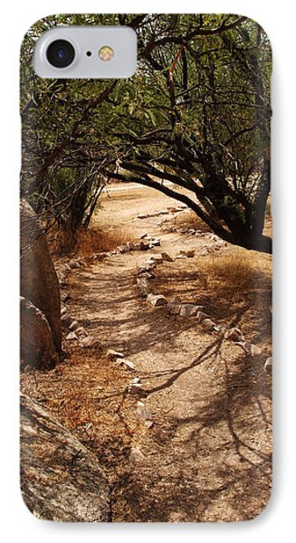 The Path IPhone Case by Michael McGowan