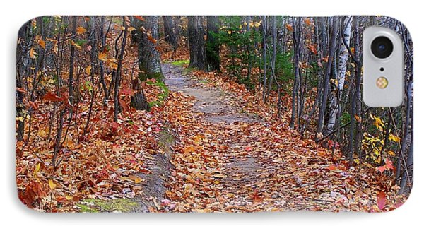The Path On The Ridge IPhone Case