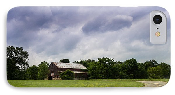 The Patriotic Barn IPhone Case by Julie Clements