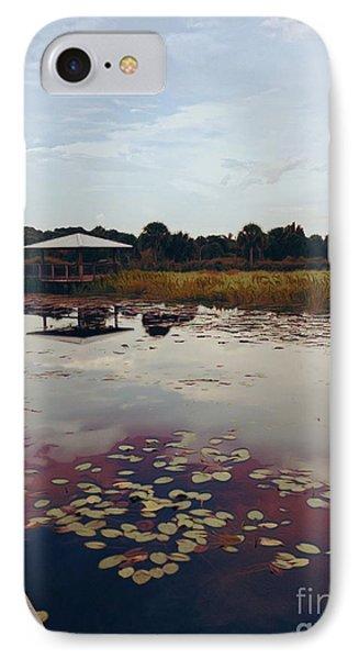 The Pavilion 2 IPhone Case by K Simmons Luna