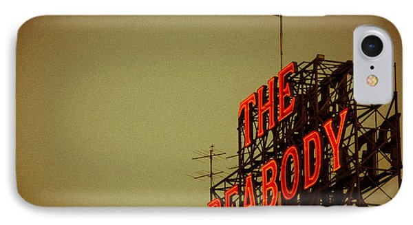 The Peabody IPhone Case by Mark Bowmer