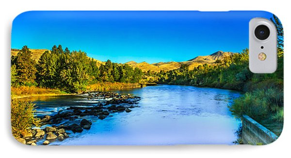 The Peaceful And Beautiful Payette River IPhone Case by Robert Bales