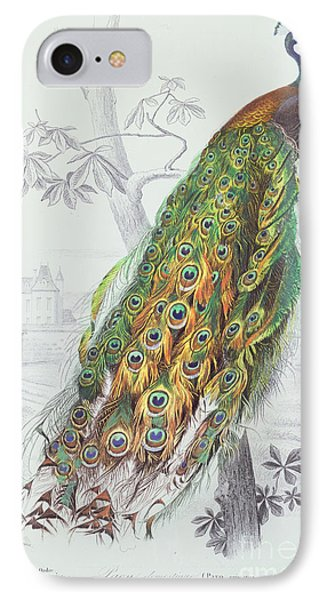 The Peacock IPhone 7 Case by A Fournier