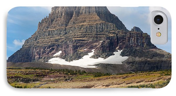 IPhone Case featuring the photograph The Peak At Logans Pass by John M Bailey