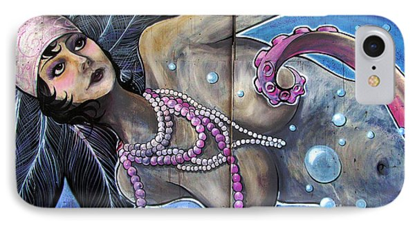 The Pearl Mermaid IPhone Case by Colleen Kammerer