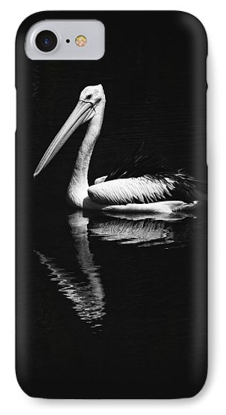 IPhone Case featuring the photograph The Pelican by Zoe Ferrie