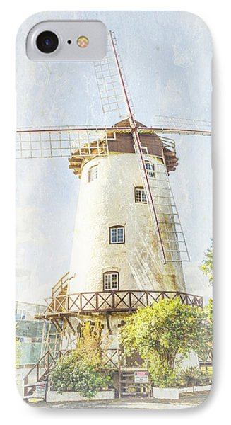 The Penny Royal Windmill Phone Case by Elaine Teague
