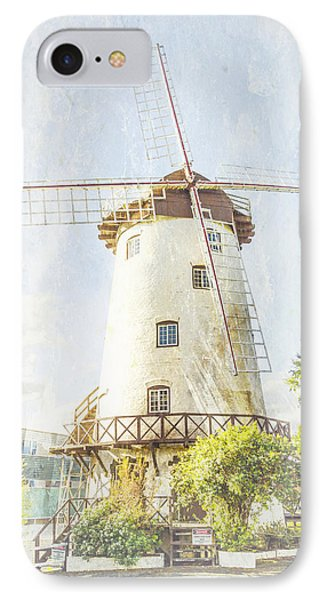 The Penny Royal Windmill IPhone Case by Elaine Teague