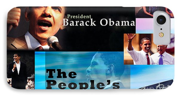 The People's President Still IPhone Case by Terry Wallace