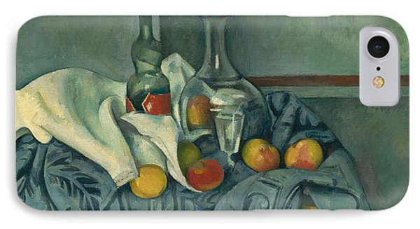 The Peppermint Bottle IPhone Case by Paul Cezanne